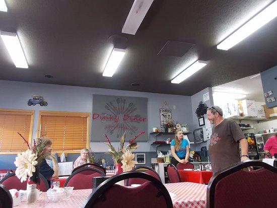 Fun tmes at R & T's Dinky Diner, Rhinelander, Wisconsin.