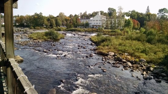 Littleton, NH : river view