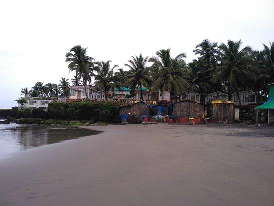 Ashvem Beach, Hindistan: Arabian Sea Restaurant