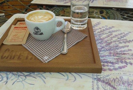 Klentnice, Repubblica Ceca: Espresso macchiato
