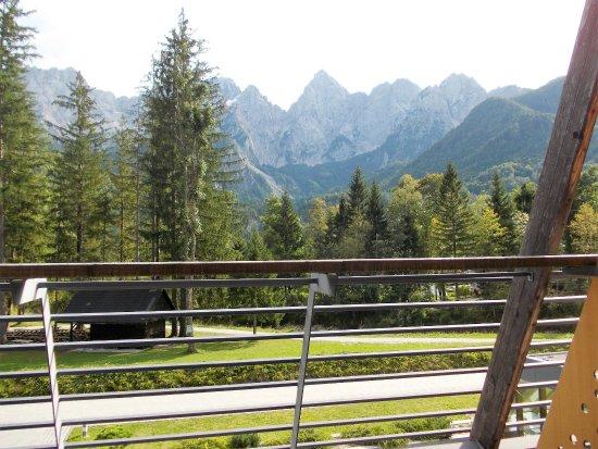 Hotel Spik Alpine Wellness Resort: Mooi zicht op de bergen