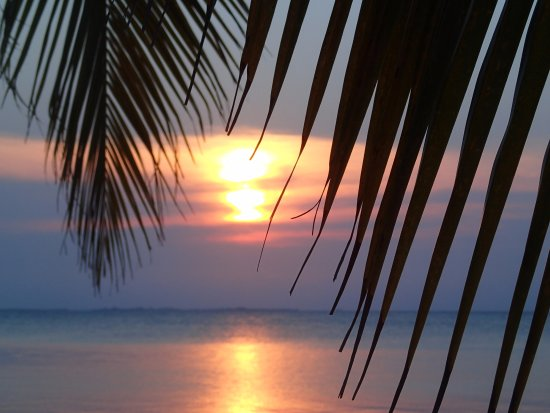 South Water Caye, Belize: Sunset