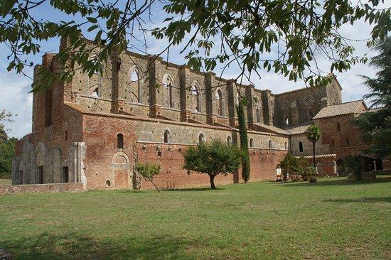 Chiusdino, Italië: Abtei