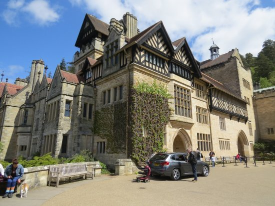 The Front Door To The House Picture Of Cragside House And Gardens