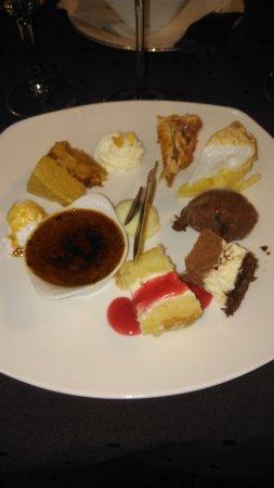 Saint Folquin, Francia: Desserts...