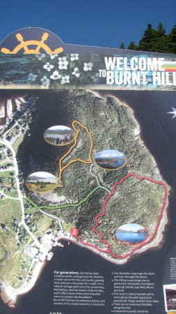 Norris Point, Canada: Trail map