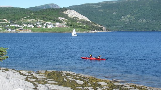 Norris Point, Canada: View from trail