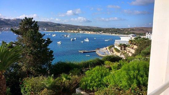 Mellieha Bay Hotel: Wonderful daylight view