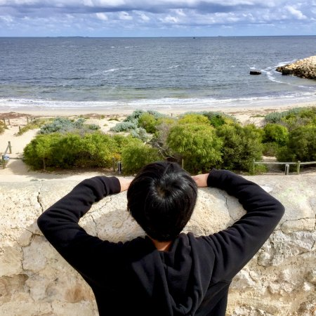 The Fremantle Round House: sea view