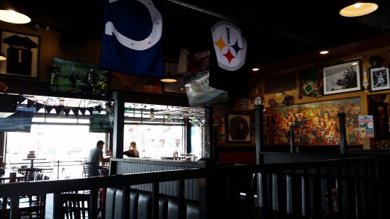 Noblesville, IN: Bar area.