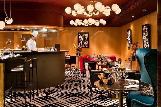 Salle Et Cuisine Ouverte Picture Of Restaurant Le W Paris