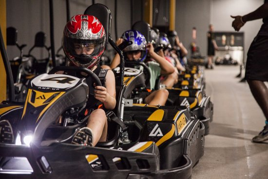 Town and Country, MO: Experience the thrill of European go kart racing at Amp Up Action Park