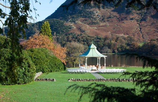 Glenridding, UK: Gazebo for an amazing wedding