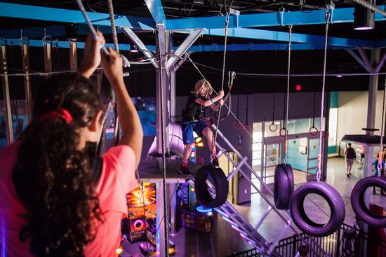 Town and Country, MO: Test your agility with our high ropes course while suspended above the gaming floor