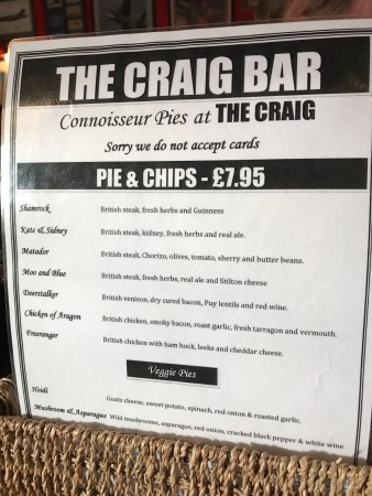 Grantown-on-Spey, UK: Familiar pies in Bristol