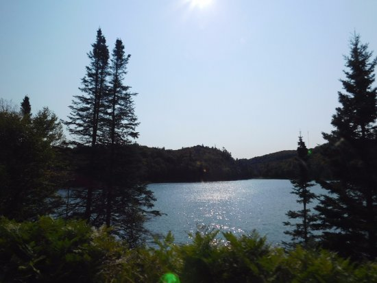 Agawa Canyon Tour Train: one of the many lakes