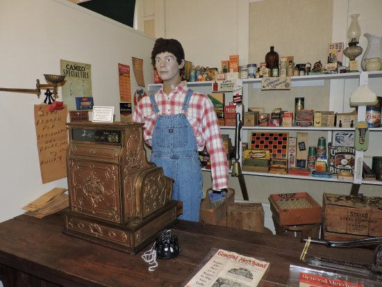Middleton, Canada: Recreated general store