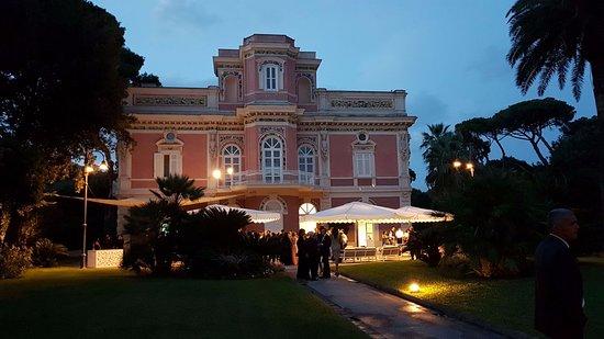 Villa Guarracino: Uno scorcio della Villa