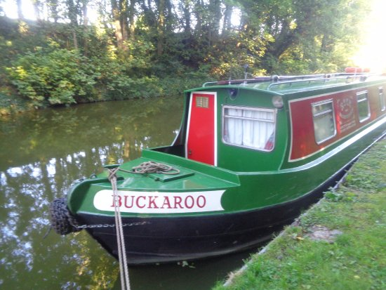 Rugby, UK: Buckaroo at Snarestone on the Ashby Canal