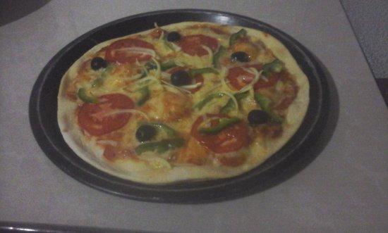 Koh Kong, Kambodża: Vegi pizza.....