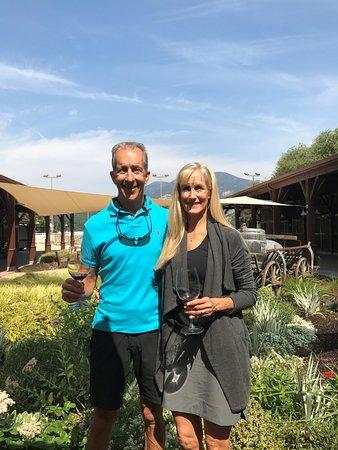 Calistoga, CA: Beautiful setting on a winery/ horse ranch