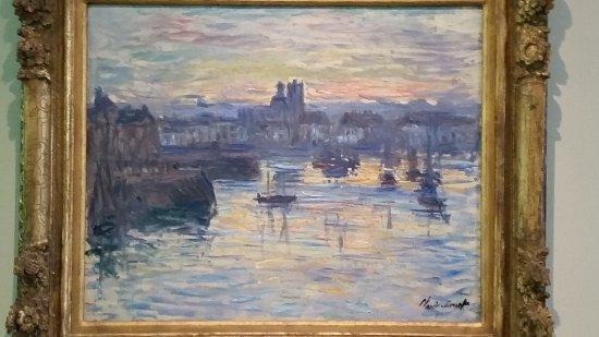 Dixon Gallery & Gardens: Claude Monet, Port of Dieppe