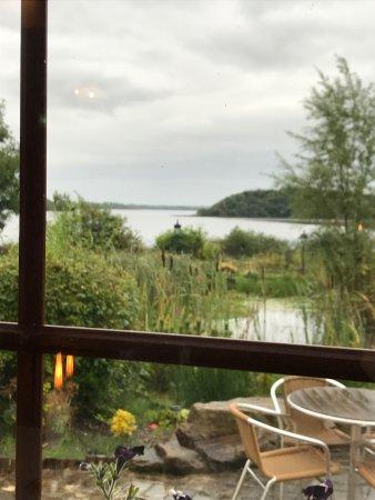 Lisnaskea, UK: View from restaurant