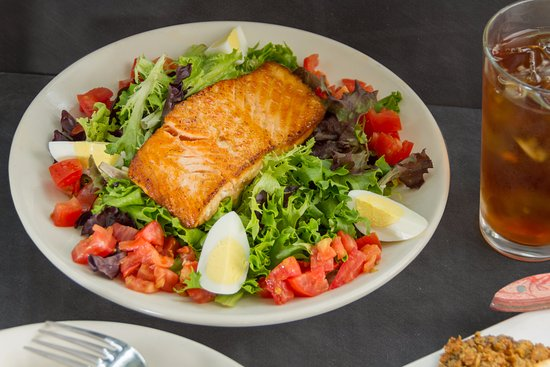 Round Top, TX: Salmon Salad
