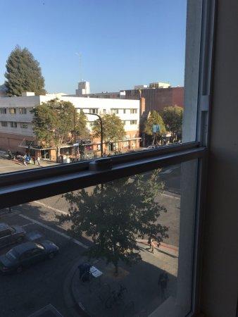 Hotel Shattuck Plaza: view from 3rd floor