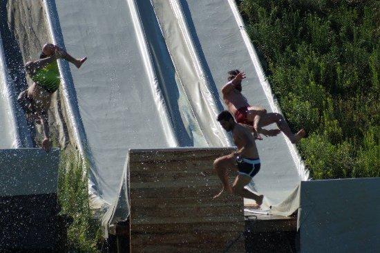 Muret, France: Water jump