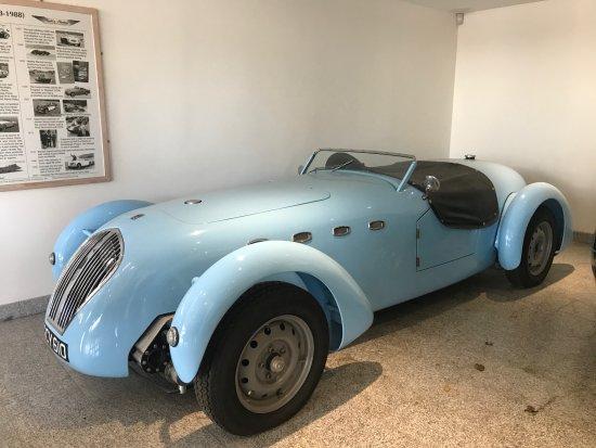 Truro, UK: Healey Car