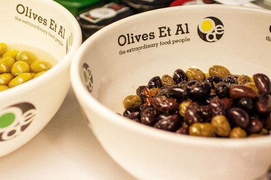 Marske-by-the-Sea, UK: The best olives...