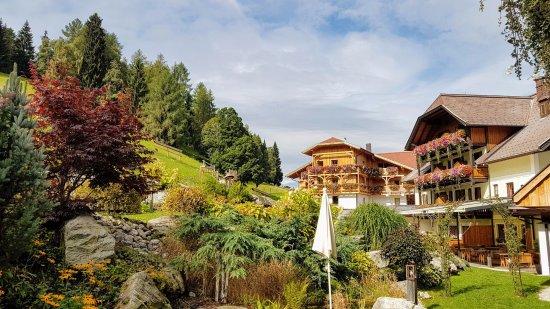 Natur und Wellnesshotel Hoeflehner: Der Garten