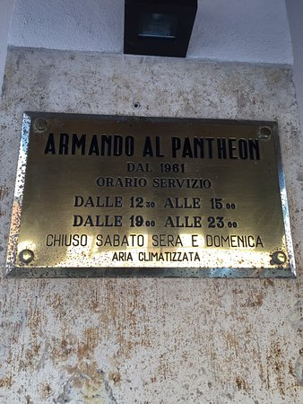 Da Armando al Pantheon: photo4.jpg