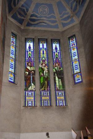 Flers, Frankrike: vitrail intérieur