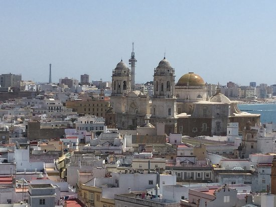Torre Tavira: View from the top!