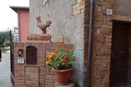 Casole d'Elsa, Italia: Un angolo del giardino