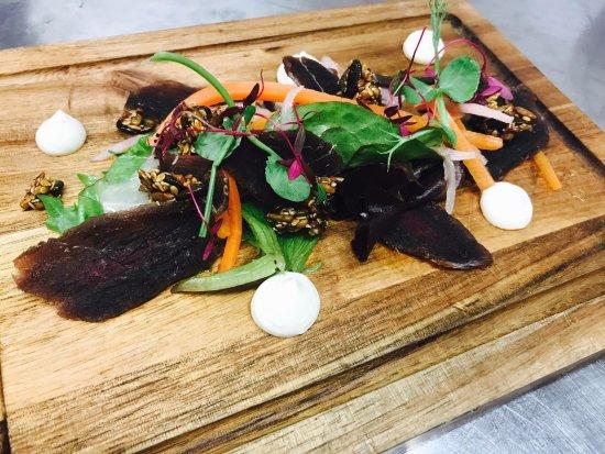 Bradford-on-Avon, UK: Smoked Duck Salad