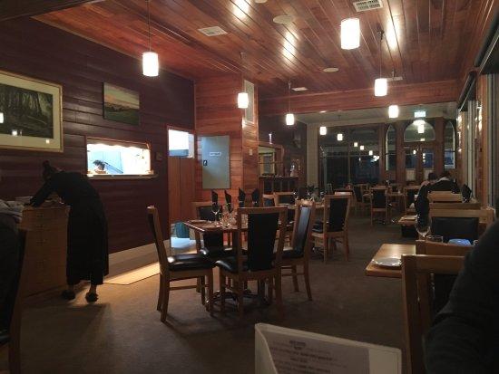 Stanley, Australia: Restaurant Interior