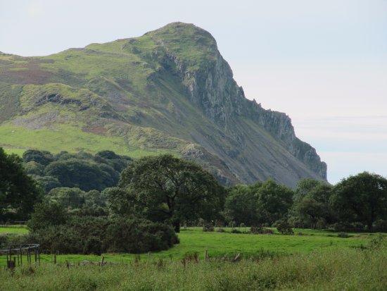 Tal-y-llyn, UK: Bird Rock - a few miles from the Rectory