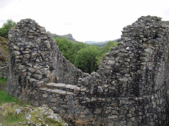 Tal-y-llyn, UK: Castle Bere - a few miles from the Rectory