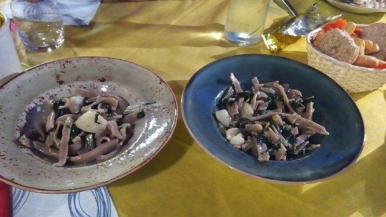 Chiuro, Italy: Dalla fono non rende ma assicuro che le quantità erano molto diverse.