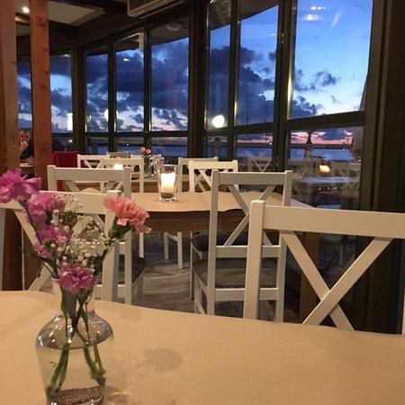 wieczór w Restauracji Na MOLO w Pucku