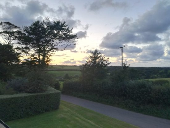 Holsworthy, UK: view out of the top window