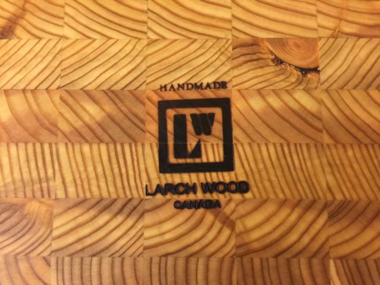 Margaree Harbour, Canada: Larch Wood, handmade in Cape Breton, NS, Canada