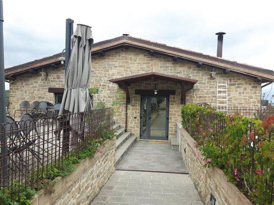 Cannara, Włochy: ingresso al ristorante