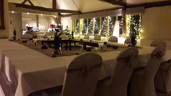 Bungay, UK: The private function room 