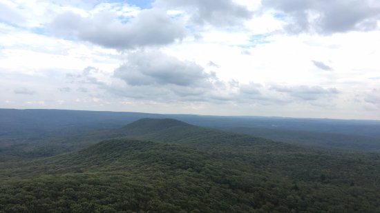 Amherst, MA: View from Mt. Norwottuck.