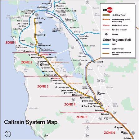 Millbrae, CA: Caltrain Station