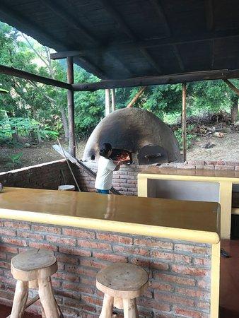 Ayampe, Équateur : Horno de leña